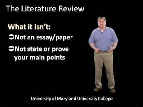 How to Write a Literature Review APA Style Lit Review